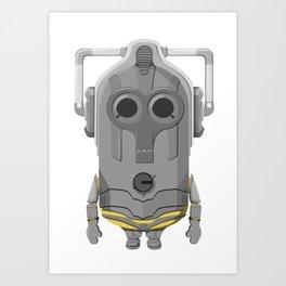 Cybermin Art Print