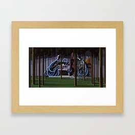 The Gateway to Her Framed Art Print