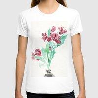 peru T-shirts featuring Peru Lilies by Kate Havekost Fine Art