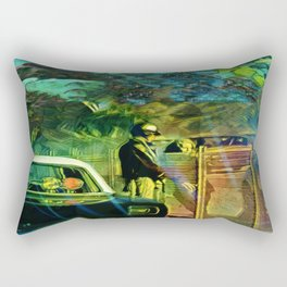 A Nightly Pull Over:The Casual Affair Rectangular Pillow