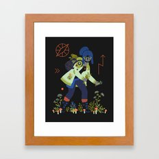 Witch Series: Plants and Herbs Framed Art Print