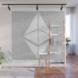 Binary Ethereum Wall Mural