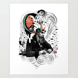 Creative Slavery Art Print