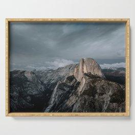 Yosemite's Half Dome Serving Tray