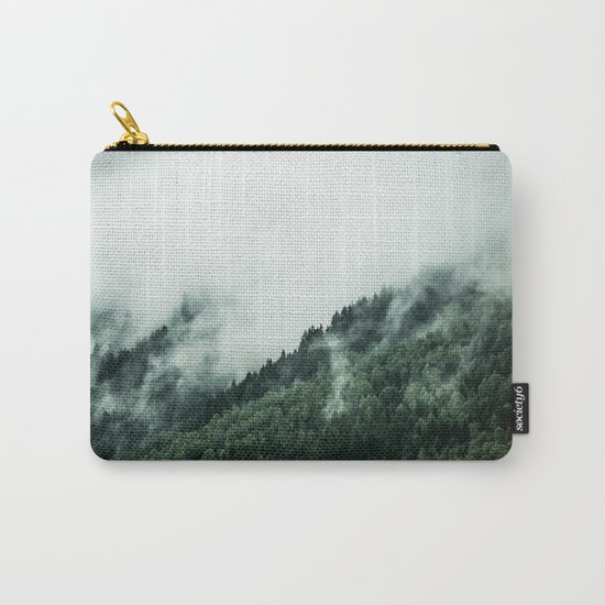 Foggy Woods 1 Carry-All Pouch