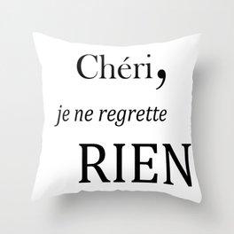 Chéri Throw Pillow