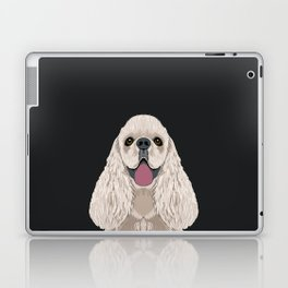 Harper - Cocker Spaniel phone case gifts for dog people dog lovers presents Laptop & iPad Skin