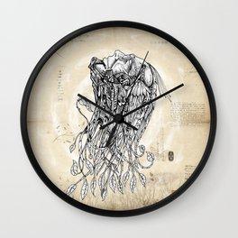 Live Leaf Wall Clock
