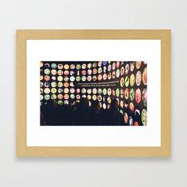 Beautiful forms Framed Art Print