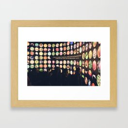 Beautiful forms Framed Art Print