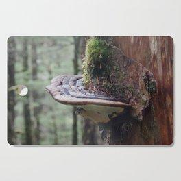 Magical Fungi World   Nature Photography Cutting Board