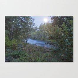 Moonlit River Canvas Print