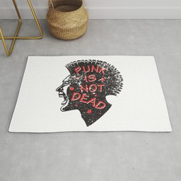 Punk is not dead at all Rug