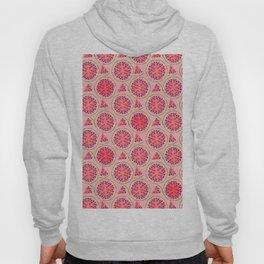 pink watermelon pattern Hoody