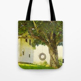Tire Swing Tote Bag