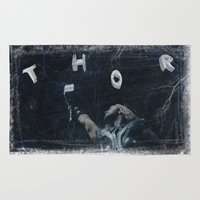 thor Area & Throw Rugs featuring Thor by André Joseph Martin
