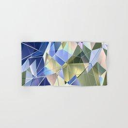 Pastel Fractal Abstract Geometric Print Hand & Bath Towel