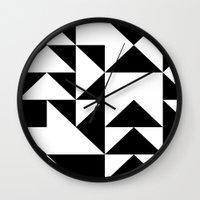 yin yang Wall Clocks featuring Yin Yang by Jar Lean