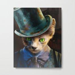 Cat the Ripper Metal Print