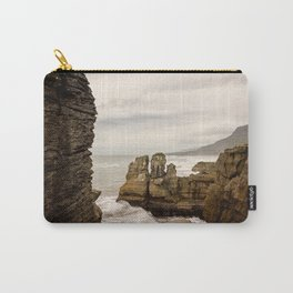 Pancake Rocks- Waves Carry-All Pouch