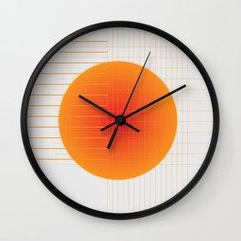 Binary Glow Wall Clock