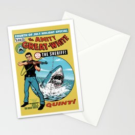 The Amity Great White Stationery Cards