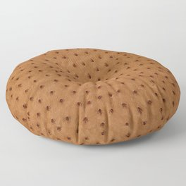 Ostrich Skin Floor Pillow