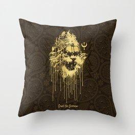 Crush The Demoniac Throw Pillow
