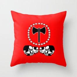 Shango Throw Pillow