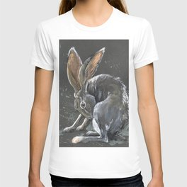 Grooming jackrabbit T-shirt