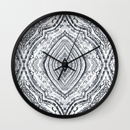Black & White Diamond Wall Clock