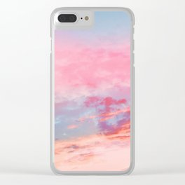 Abstract pattern 222 Clear iPhone Case