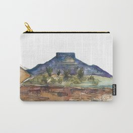 Purple Mountian, New Mexico Carry-All Pouch