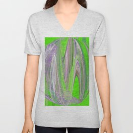 Original Abstract Duvet Covers by Mackin & MORE Unisex V-Neck