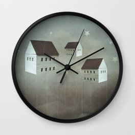 the architecture of dreams Wall Clock