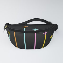 Retro Airplanes 04 Fanny Pack