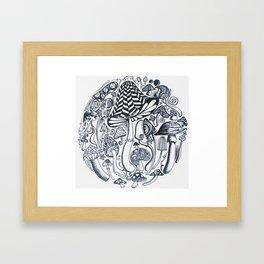Feild of dreams Framed Art Print