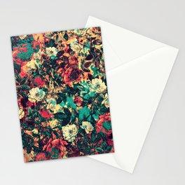 RPE FLORAL V Stationery Cards
