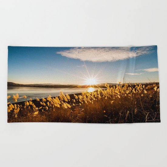 sun Beach Towel