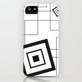 """""""From Big to Small"""" abstract composition iPhone Case"""