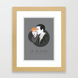 In The Flesh - Kieren & Simon Framed Art Print