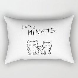Les Minets Rectangular Pillow
