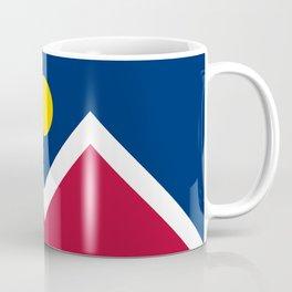 Denver City Flag - Authentic High Quality Coffee Mug