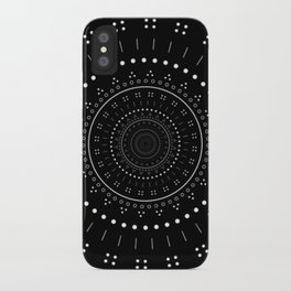 B&W WOW iPhone Case