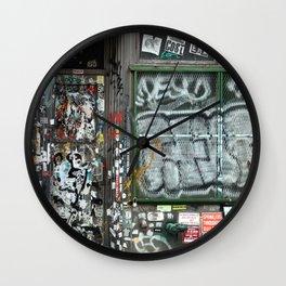 On Bleecker street, East Village | NYC Wall Clock