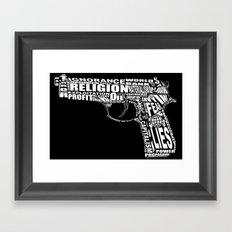 Self Defence Framed Art Print