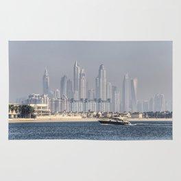 Dubai Yacht And Architecture Rug