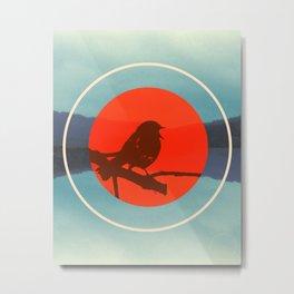 Bird Call Metal Print