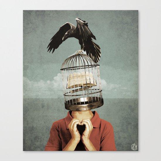 metaphorical assistance Canvas Print