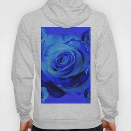BLUE ROSES & BLUE  MODERN ART CONCEPT Hoody